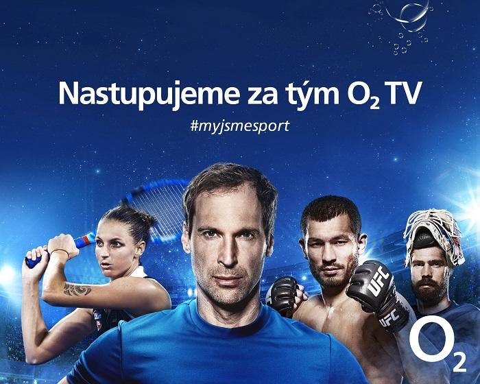 Nový vizuál O2 TV Sport, zdroj: O2