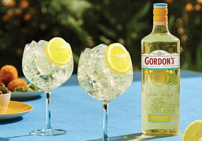 Gordon's Sicilian Lemon, zdroj: Stock Plzeň - Božkov