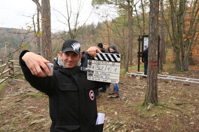 Zahájení natáčení třetí řady seriálu Labyrint, foto: Česká televize