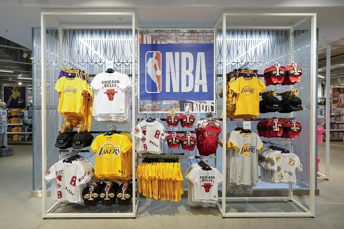 V nabídce budou i licencované produkty, například od NBA, zdroj: Primark.