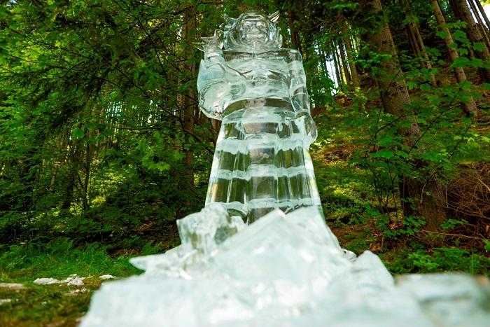 Ledová socha, zdroj: Radegast