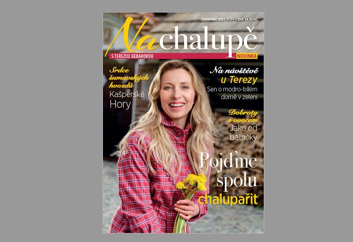 Titulní strana časopisu Na chalupě, zdroj: Mafra