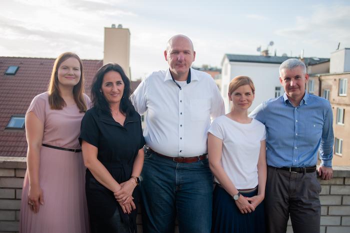 Nová sestava Výkonného výboru PR Klubu (zleva): Kateřina Pavlíková, Patricie Šedivá, Pavel Vlček, Jana Pečenková a Ladislav Kříž, zdroj: PR Klub