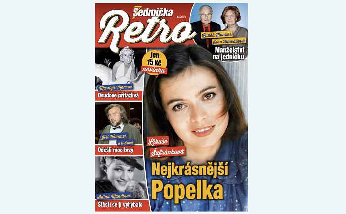 Titulní strana časopisu Sedmička Retro, zdroj: Empresa Media