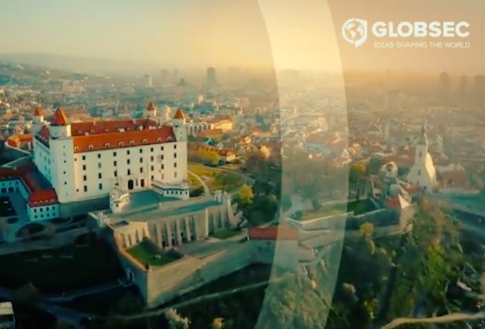 Grand Prix získala hybridní konference GLOBSEC 2020 Bratislava Forum, zdroj: Repro YT ČEA