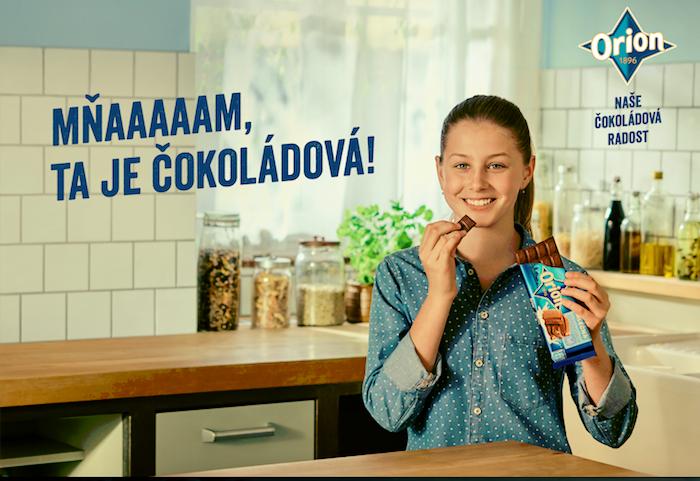 Klíčový vizuál k nové kampani, zdroj: Nestlé