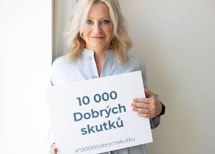 Majitelka značky Kolorka Jana Chladová vyývá k 10 tisícům Dobrých skutků, zdroj: Kolorky.