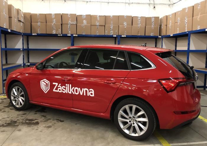 Zásilkovna domů bude doručovat zásilky v osobních autech, foto: MediaGuru.cz.