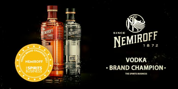 Klíčový vizuál vodky Nemiroff, zdroj: Coca-Cola HBC