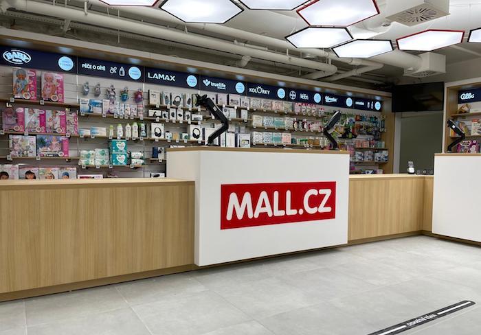 V Brně na Vídeňské ulici otevírá Mall svůj první e-shop, zdroj: Mall.cz.