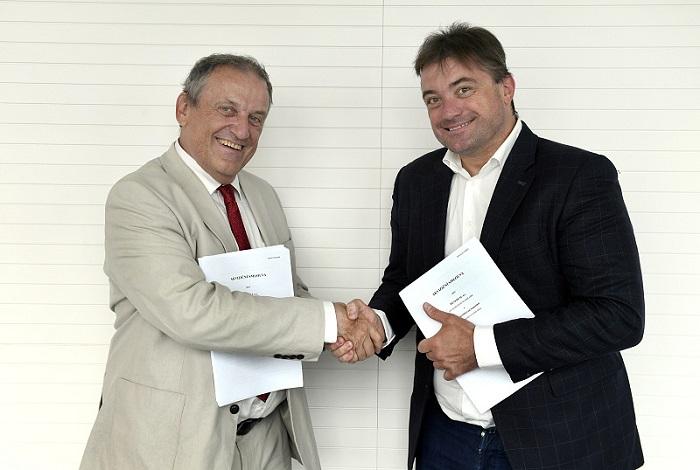 Jiří Majstr a Igor Rataj, zdroj: ČTK