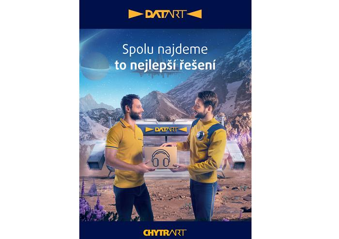 Další část kampaně propaguje služby na prodejnách, zdroj: Datart.