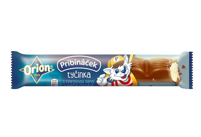 Novinka, jež vzešla spolupráce značek Orion a Pribináček, zdroj: Nestlé.