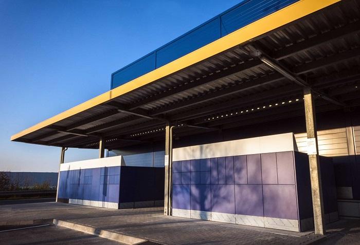 V Praze na Zličíně je celkem 44 boxů a nacházejí se vlevo od východu z obchodního domu, zdroj: Ikea.