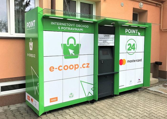 V tuto chvíli družstvo provozuje zhruba 10 boxů, všechny ale dosud byly u prodejen, tento je první samostatně, zdroj: COOP