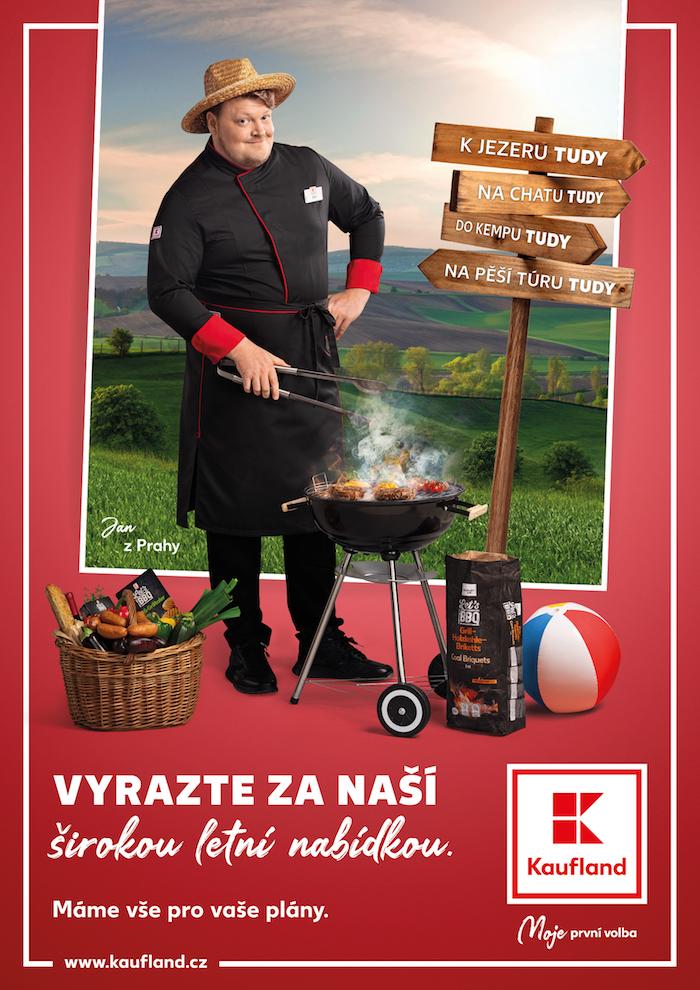 Klíčový vizuál k letní kampani Kauflandu, zdroj: Kaufland