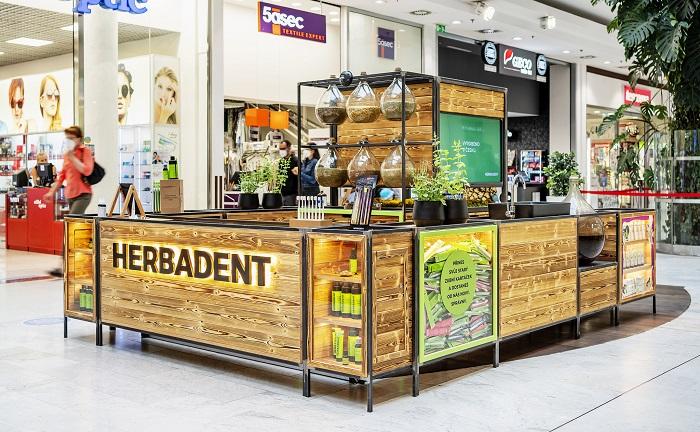 Do konce roku má Herbadent pop-up v OC Nový Smíchov a uvažuje i o rozšíření do dalších center, zdroj: Herbadent