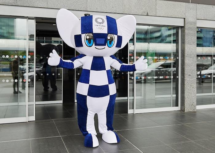 Maskot Letních olympijských her v Tokiu, zdroj: FB Olympijský festival