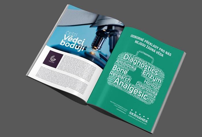 Vizuál z nové kampaně jazykové agentury Skřivánek, zdroj: Skřivánek