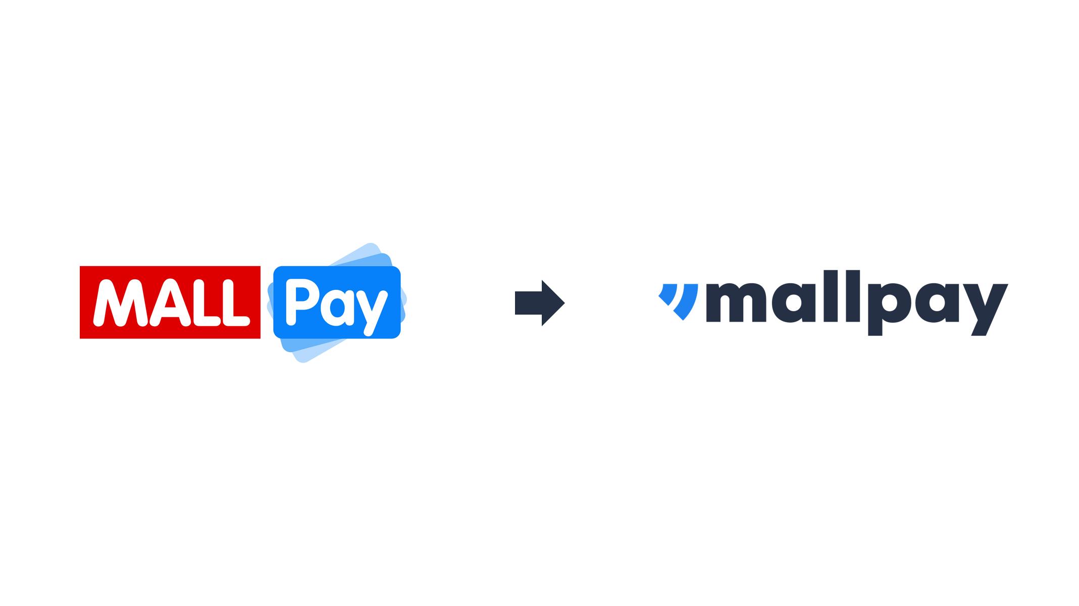 Staré versus nové logo Mall Pay, zdroj: Mall Pay