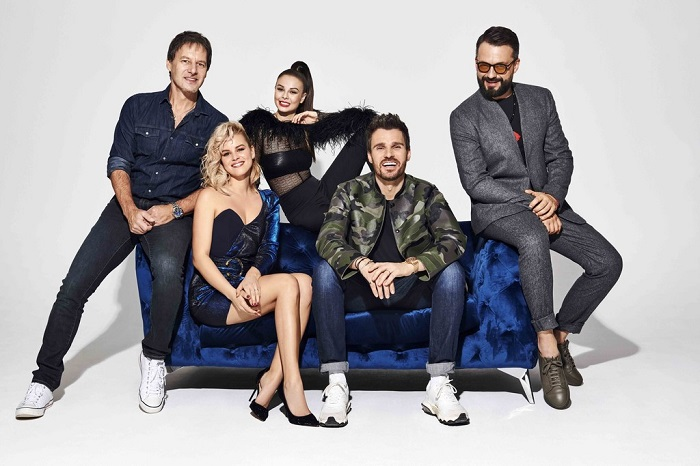 Porota letošního ročníku soutěže SuperStar, zdroj: TV Markíza