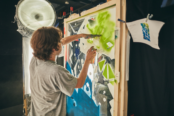 Karel Cettl při tvorbě inspirované příchutí Mojito, zdroj: Desperados / Heineken