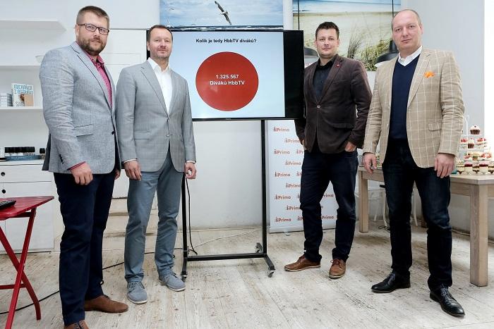 Petr Hatlapatka, Daniel Grunt, Lukáš Hnilička a Jiří Lichý, foto: FTV Prima
