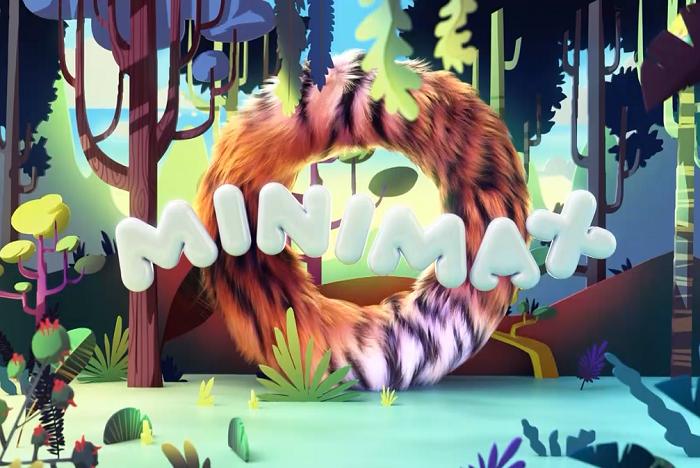 Minimax přichází i s animovaným logem, má představovat bránu do dobrodružných světů, zdroj: Minimax.