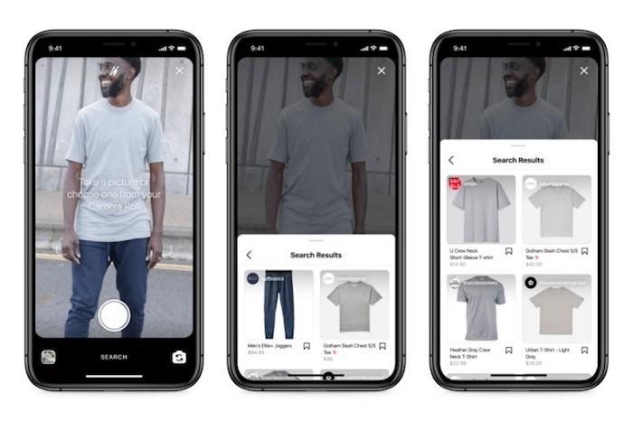 Instagram pomůže najít kýžený produkt přes vizuální vyhledávání, zdroj: Instagram.