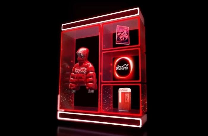 Digitální kolekce do NFT aukce od značky Coca-Cola, zdroj: Coca-Cola