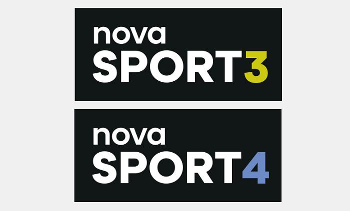 Loga nových sportovních kanálů televizní skupiny Nova, zdroj: TV Nova