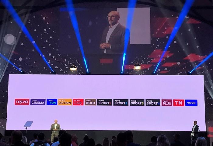 Generální ředitel TV Nova Jan Vlček představuje nové portfolio stanic skupiny Nova, zdroj: MediaGuru.cz