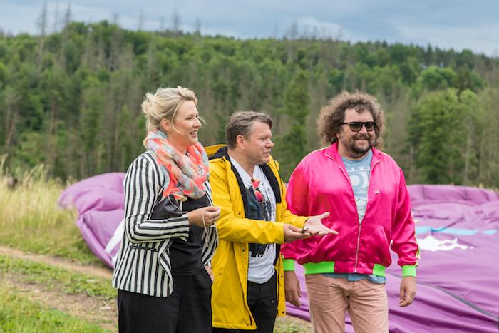 Tereza Černochová, Matěj Ruppert a Roman Holý