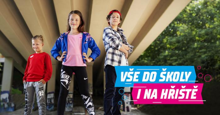 Z aktuální kampaně řetězce Sportisimo k návratu do školy, zdroj: Sportisimo