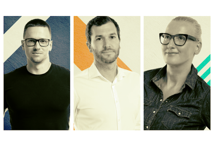 Tomáš Sýkora, Tomáš Coufal a Tereza Janečková jsou novými tvářemi agentury VMLY&R, zdroj: VMLY&R.