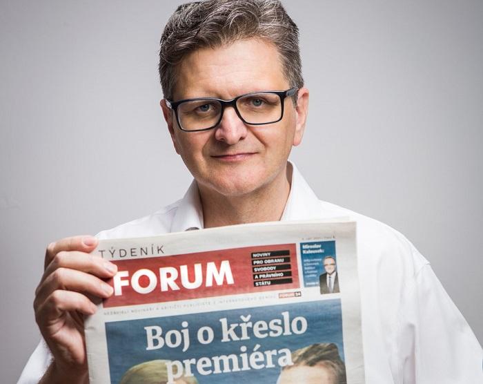 Pavel Šafr, zdroj: Forum 24