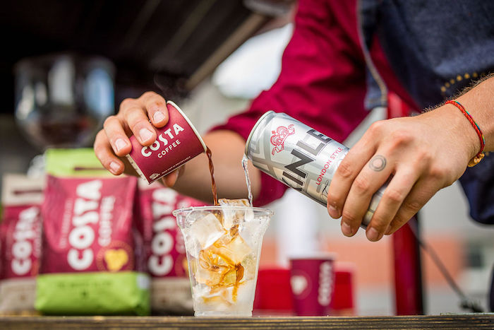 Kinley se spojuje s Costa Coffee, zdroj: The Coca-Cola Company