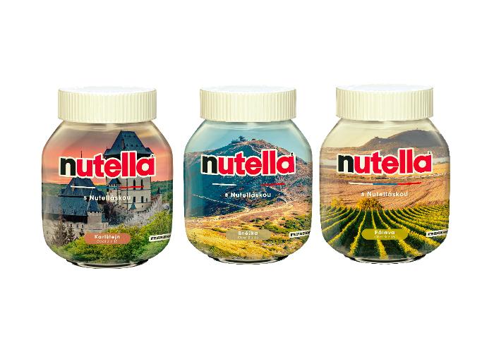 "Limitovaná edice ""S Nutelláskou"", zdroj: Nutella / Ferrero"