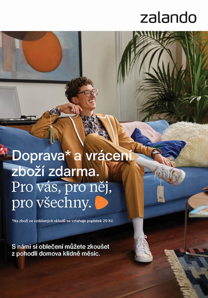 Ukázka z podzimní kampaně Zalanda, pod kterou je podepsána agentura Symbio, zdroj: Zalando.