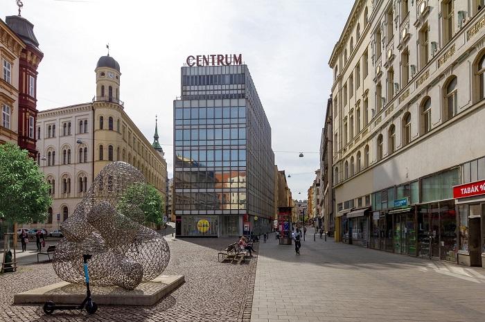 Nový obchod se nachází naMalinovského náměstí v centru Brna, zdroj: Lidl.
