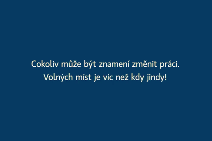 Vizuál kampaně Jobs, zdroj: Jobs.cz / LMC