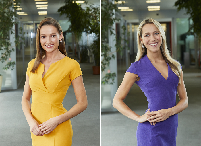 Anna Bábovská a Simona Šimková, zdroj: TV Nova