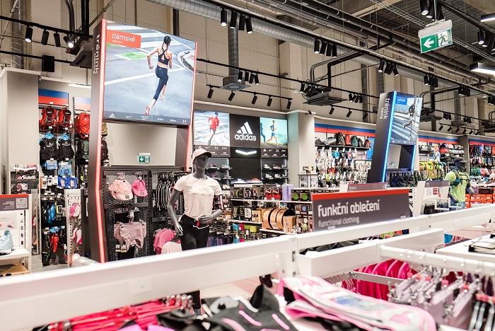 Na konci srpna byla otevřena modernizovaná prodejna v Ostravě, zdroj: Sportisimo