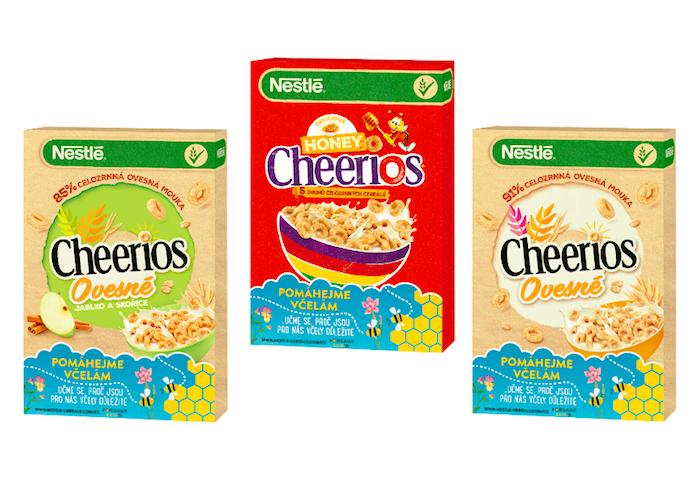Do kampaně zapojí Nestlé Cheerios speciální obaly, zdroj: Nestlé.