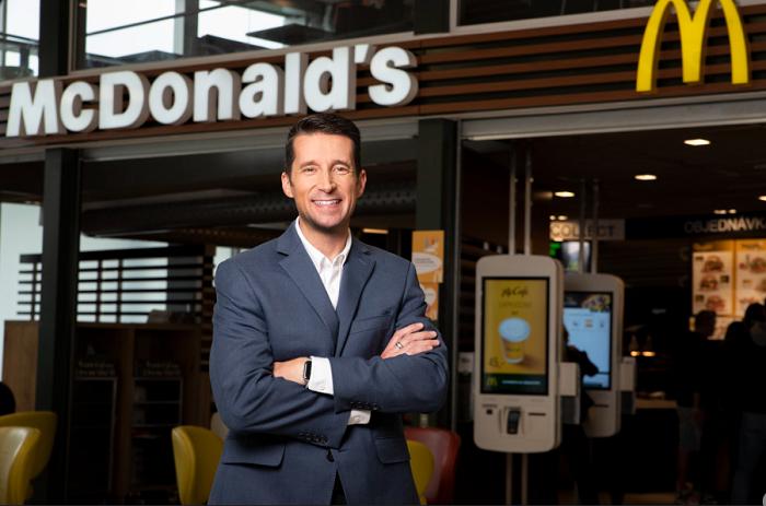 Dan Camp, zdroj: McDonald's
