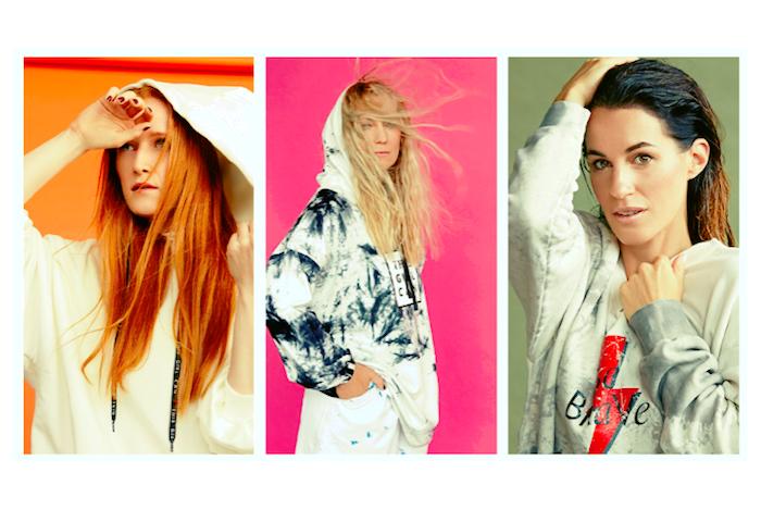 Answear se spojuje s lokálními tvářemi (zleva): Kateřinou Vackovou, Lenkou Klicperovou a Lucií Křížkovou, zdroj: Answear.