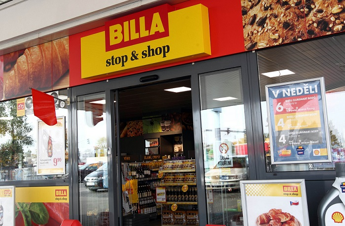 U 70 čerpacích stanic Shell funguje zároveň malá prodejna Billa, zdroj: Shell/Billa