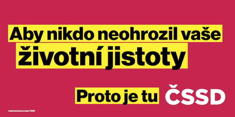 Zdroj: ČSSD