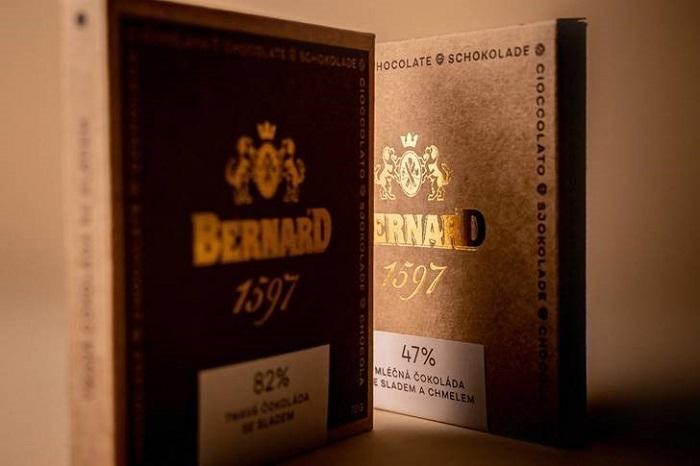 Čokolády značky Bernard, zdroj: Bernard