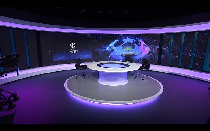 Studio Ligy mistrů, zdroj: TV Nova